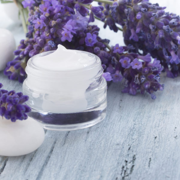 lavender facial beauty cream